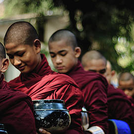 Young Monks of Myanmar  by Josh Kathey