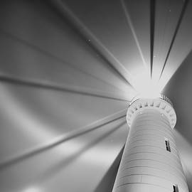 Mono Lighthouse  by Neil R Finlay