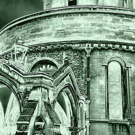 Monochromish London Temple Church  by Sea Change Vibes