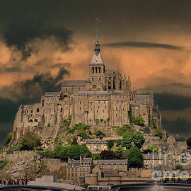 Mont St Michel Normandy France by Jack Torcello