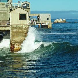 Monterey Ocean Side View by Julieanne Case