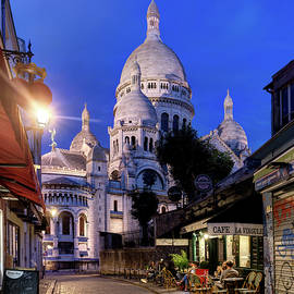 Montmartre in the Twilight by Weston Westmoreland