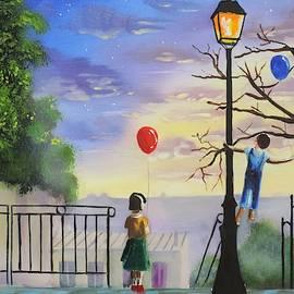 Montmartre Paris painting by Gordon Bruce