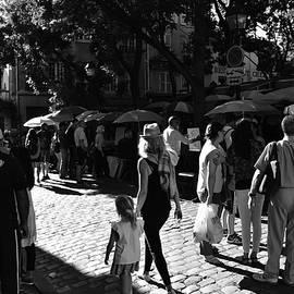 Montmartre Square Paris  by Neil R Finlay