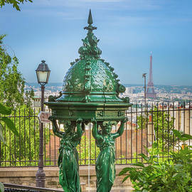 Montmartre Wallace Fountain by Inge Johnsson