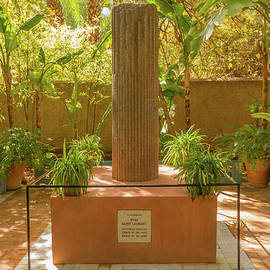 Monument to Yves Saint Laurent, Marrakesh. by Robert Murray