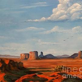 Monument Valley by Lee Piper