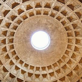Monumental Dome Of The Pantheon by Artur Bogacki