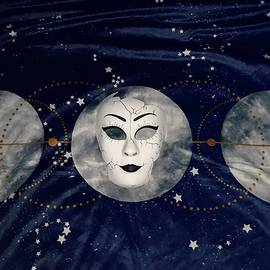 Moon and Mask by Vale Anoa'i