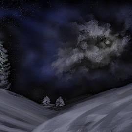 Moon #j3 by Leif Sohlman