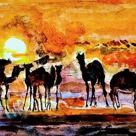 Moon light by Khalid Saeed