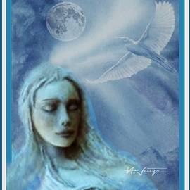 Moon  Spirit  Dreaming  by Hartmut Jager