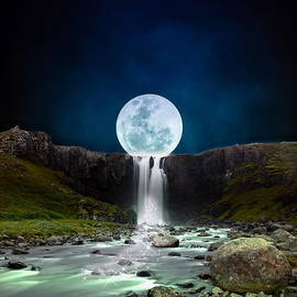 Moon tears by Louise Lavallee