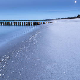 Moonlight at the Sea by Tobias Luxberg