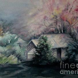 Moonlit Cottage by Elizabeth Allen