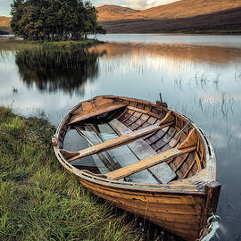 Moored on Loch Awe by Dave Bowman