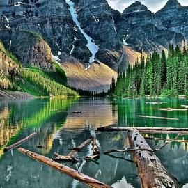 Moraine in Splendid Glory by Frozen in Time Fine Art Photography