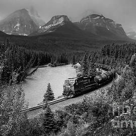 Morants Curve in Black and White by Norma Brandsberg