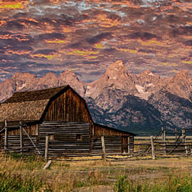 Mormon Row Majesty - Grand Tetons by Stephen Stookey
