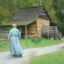 Morning Chores 2 by Mary Timman