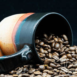Morning Coffee Beans by L Bosco