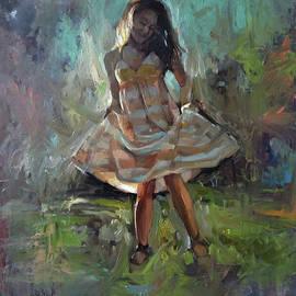 Morning dance by Kamsar Ohanyan