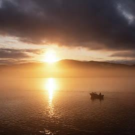 Morning Fishermen  by Steven Clark