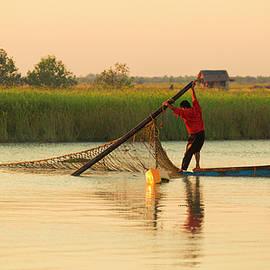 Morning Fishing by Lindley Johnson