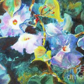 Morning Glories by Kathy Braud