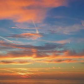 Sunrise over Broadstairs by Joe Vella