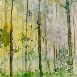 Morning in forest by Natalia Stahl