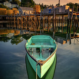 Morning in Friendship Harbor by Rick Berk