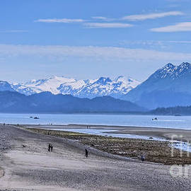 Morning Low Tide by Robert Bales