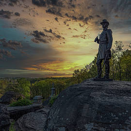 Morning on Little Round Top by Mike Griffiths