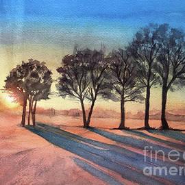 Morning Shadows by Susan Cunniff