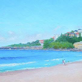 Morning Stroll Coogee Beach by Jan Matson