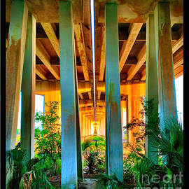 Morning sunshine on the bridge by Michael Sowa