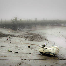 Morston Quay Winter Mist by Jim Key