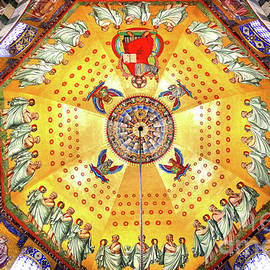Mosaic Ceiling, Aachen Cathedral by Douglas Taylor