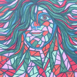 Mosaic Man by Bradley Boug