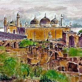 Mosque at Derawar Fort by Khalid Saeed