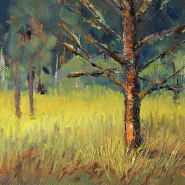 Mossy Pine by Nancy Merkle
