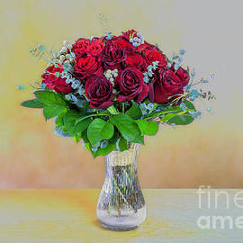 Mothers Day rose bouquet