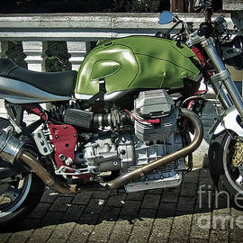 Moto Guzzi V11 Sport by Joe Mourino