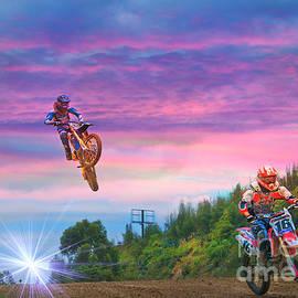 Motocross Is Not For Sissies VII by Al Bourassa