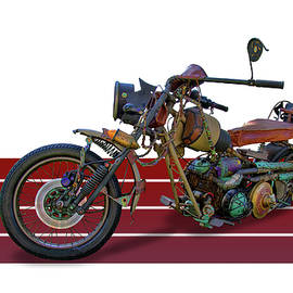 Motorcycle Rat Rod