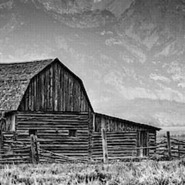 Moulton Barn Panorama by George Buxbaum