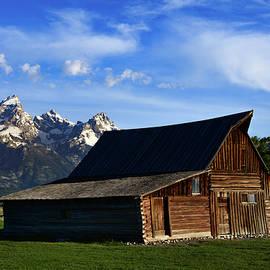 Moultons barn Mormon row by Dwight Eddington