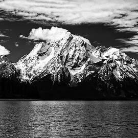 Mount Moran in Black and White by Felipe Correa