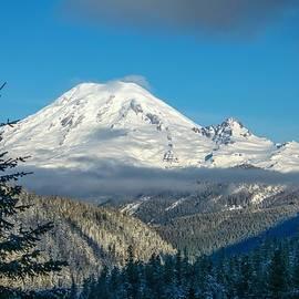 Mount Rainier appearance by Lynn Hopwood